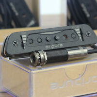 Oripure Acoustic Guitar Soundhole Pickup Single Coil Staggered with Output Jack
