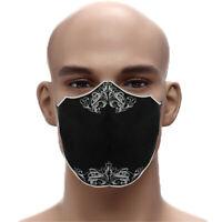 Designer Maske Edel gestickter Mundschutz ✔Atemmaske➤Stickerei 60° wash