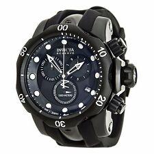 Invicta 80580 Men's Venom Chronograph Black MOP Dial Rubber Strap Dive Watch