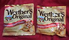2 Bags Of Werthers Original Caramel , 2.65oz Bags Hard Candy