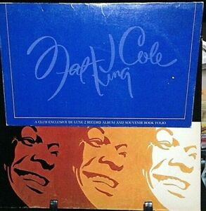 NAT KING COLE The Man and His Music Double Album Released 1969 Vinyl USA
