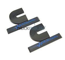 2 NEW MATTE BLACK DODGE RAM 2500 3500 DIESEL EFI LIVE TURBO DIESEL EMBLEMS