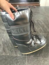 Silver Metallic Moon Boots EUR 35 - 38 - USED ONCE
