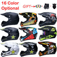 Motorcycle Helmet Extreme Sports Off Road ATV Dirt Bike Helmets+3pcs Free Gift