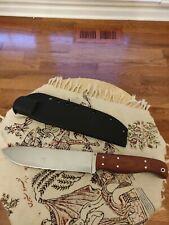 Big Chris Custom Camp fixed blade Knife O1