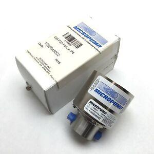 "Micropump GB-P35.PVS.A-P4 Magnetic Drive Gear Pump Head, 1/8"" NPT, 125psi Max"