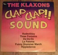 The Klaxons ‎– Clap Clap Sound Vinyl LP Album 33rpm 1984 CBS 26040