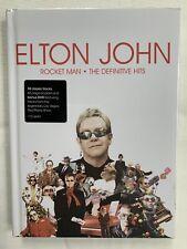 Elton John Rocket Man The Definitive Hits CD/DVD/Book New Sealed Hardback set