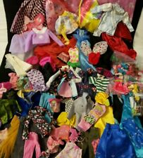 Barbie Doll and Other Brand Clothes Lot Mixed Vintage and Modern Sizes