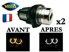 2 Angel Eyes Vega® LED 2*6W Bridgelux Xénon BMW E90 E91 avant 2008