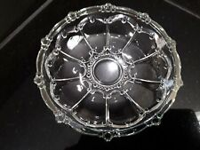 Vintage Clear Glass Candy/Serving Dish.Very Attractive.Entertaining.Collectible