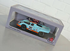 CMR 1/18 Gulf Porsche 917K 24h Le Mans 1970 - Racing Modell Auto NEU in OVP
