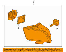 FORD OEM 08-09 Mustang-Headlight Assembly 8R3Z13008B