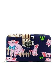 NGIL Stylish Piggy Quilted Wallet