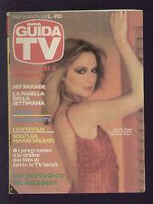 NUOVA GUIDA TV MONDADORI 20/1983 LORETTA GOGGI JP BELMONDO TV LOCALI LAZIO ROMA