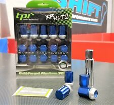 tpi XR Racing Nuts - Blue - M12x1.5