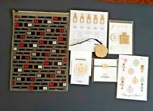 Chanel VIP Gifts Galore Patch, Stickers, Bookmarks, Charms, Pouch NEW US Seller