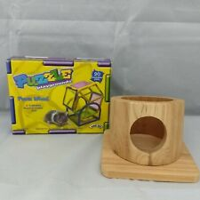 Exercise Wheel and Wood House Hut Nester for Pet Hamster Gerbil Mouse Custom Lot