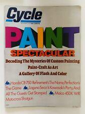 Cycle Magazine November 1973 - Paint Spectacular - Honda CB 750 - Maico 450