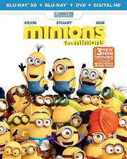 Minions ( Blu-ray disc only no case or artwork)