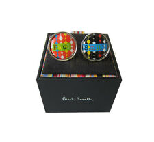 Paul Smith ACCESSORIES PS Name 2 Ceramic Cufflinks