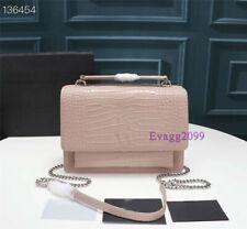 Satchels Bag Vintage Chain Messenger Bag Large Women Crossbody Bags High Quality