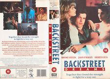 Backstreet Dreams - Brooke Shields Sherilyn Fenn (Twin Peaks) - Rare PAL UK VHS