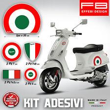 Adesivi Stickers kit BANDIERE ITALIA PIAGGIO VESPA GTS PX PRIMAVERA SPRINT ET3