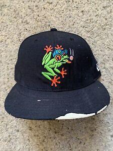VTG 90s Everett Aquasox Minor League Snapback Baseball Hat Cap New Era USA
