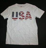 NEW Gymboree Outlet USA Fourth of July Short Sleeve Tee Shirt Top Size 4 Yr NWT