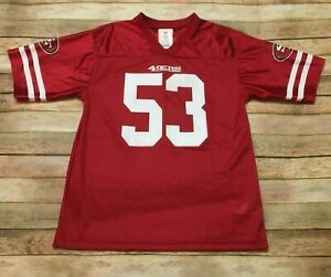 San Francisco 49ers JERSEY NaVorro Bowman NFL RED Womens Large Medium Youth 2XL