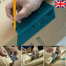3D Mitre Angle Measure Ruler Woodworking Square Size Carpenter Measure Tool