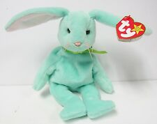 Ty Beanie Baby Hippity Mint Green Bunny Rabbit Brand New PRISTINE w/Mint Tags!
