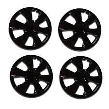 "4 Pc Ice Black 16"" Hub Caps Wheel Cover Set 2007-2009 Toyota Camry style"