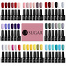 6 Bottles UR SUGAR 7.5ml Soak Off UV Gel Polish Nail Art Glitter  Varnish