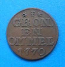 Pays-Bas Netherlands Groningen Ommeland duit 1770 km 66