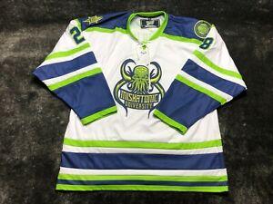 Miskatonic University CTHULHU Geeky Jerseys Hockey Jersey Size 2XL XXL