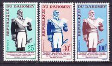 Dahomey 179-81 Mnh 1963 General Toussaint L'Ouverture Set Very Fine