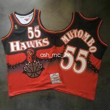 Dikembe Mutombo #55 Atlanta Hawks 1996-97 Throwback Jersey