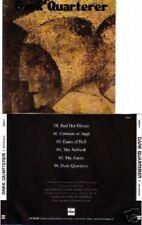 DARK QUARTERER- same CD epic metal classic ala MANILLA ROAD/CIRITH UNGOL/WARLORD