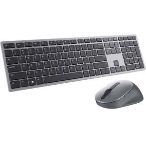 Dell Premier Multi-Device Wireless Keyboard/Mouse, USB Wireless, KM7321WGY-US