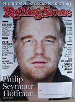 PHILIP SEYMOUR HOFFMAN Feb. 2014 ROLLING STONE Magazine DRAKE / PETE SEEGER ++