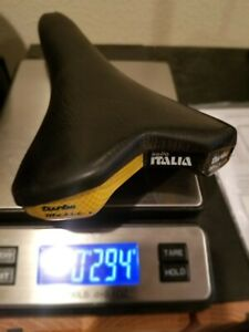 Vintage Selle Italia Turbo Matic 2 Saddle Black 294 Grams 1995