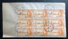 1947 Tortola British Virgin Island Souvenir Cover Victory Stamp