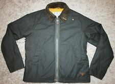 Barbour BEACON WINTER MUNRO Waxed Jacket in Sage Green - Large [4065] Immaculate