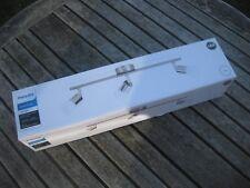 Philips Essentials 3x  LED Spot Bar/Tube Light Nickel FREE UK POSTAGE