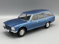 Peugeot 504 Break, met. blau  1976  1:18 MCG 18213  *NEW*