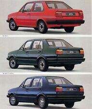 VW VOLKSWAGEN 2 II C CL Carat GT Classic Limousine Prospekt Brochure 1985 6