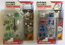 HASBRO TRANSFORMERS KRE-O SET OF 2
