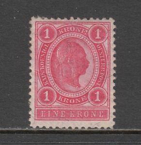 Austria - 1k Emperor Francis Joseph I Issue 1899 (MNH) (CV $21)